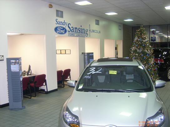 Sandy Sansing Used Car Inventory