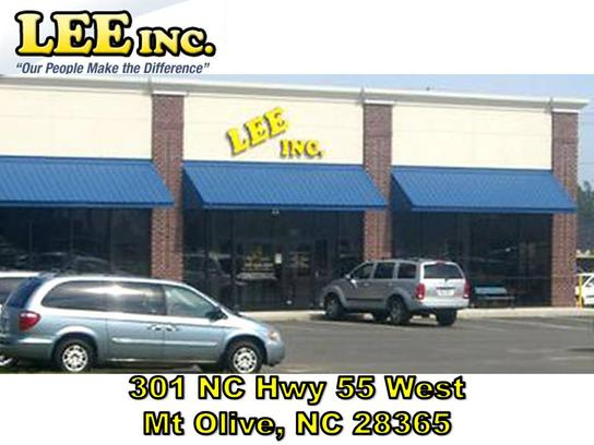Lee inc car dealership in mount olive nc 28365 kelley for Lee motors goldsboro nc