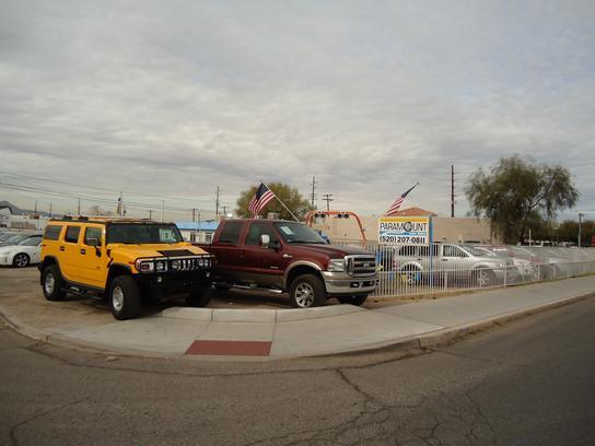 Paramount Auto Sales : Tucson, AZ 85710 Car Dealership ...