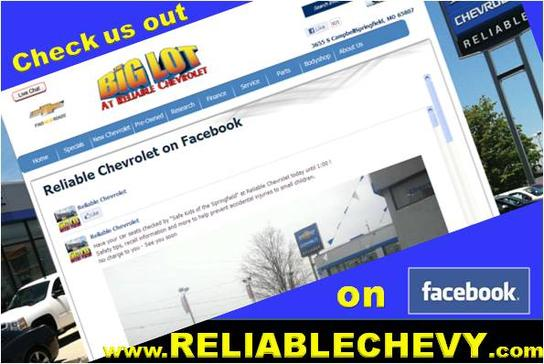 reliable chevrolet mo springfield mo 65807 car dealership and. Cars Review. Best American Auto & Cars Review