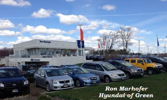 Ron Marhofer Hyundai of Green car dealership in Akron, OH ...