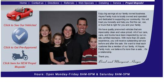 Hayes Auto Watertown Wi >> Hayes Family Auto Watertown Wi 53094 Car Dealership And Auto