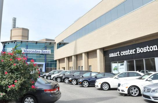 Mercedes benz of boston car dealership in somerville ma for Mercedes benz dealer northern blvd