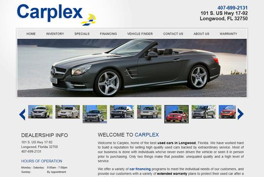 Carplex Orlando Fl 32751 Car Dealership And Auto