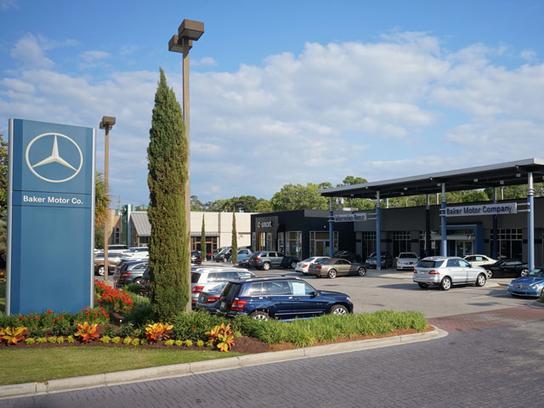 Baker motor company car dealership in charleston sc 29407 for Baker mercedes benz charleston sc