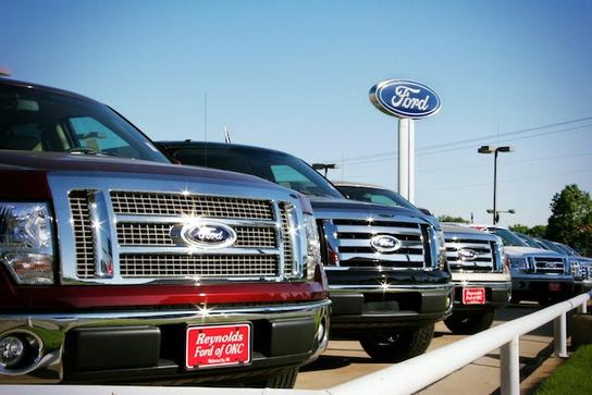 Reynolds Ford OKC - located on NW Expressway 2