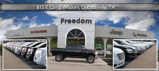 Freedom dodge chrysler jeep duncanville tx 75116 car Freedom motors reviews