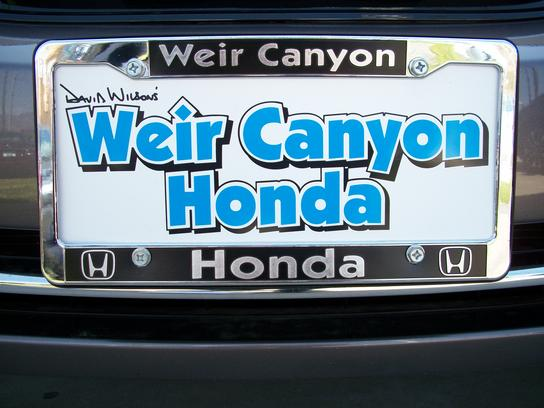 Weir Canyon Honda 1