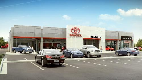 Bennett toyota of allentown toyota dealer in allentown for Honda dealer allentown pa