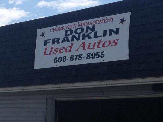 Car Lots In Somerset Ky >> Don Franklin Used Autos : SOMERSET, KY 42501 Car ...