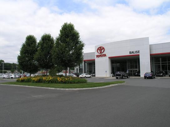 Balise Toyota Car Dealership In West Springfield Ma 01089