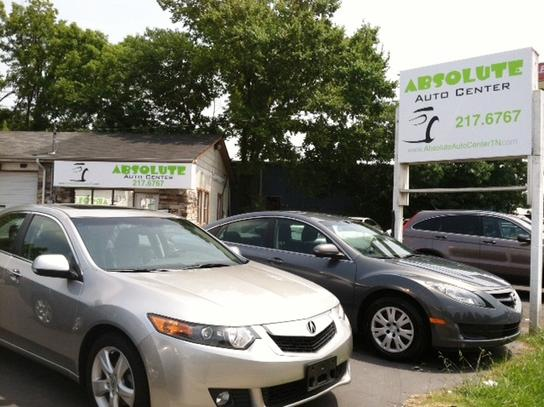 absolute auto center used cars murfreesboro tn dealer autos post. Black Bedroom Furniture Sets. Home Design Ideas