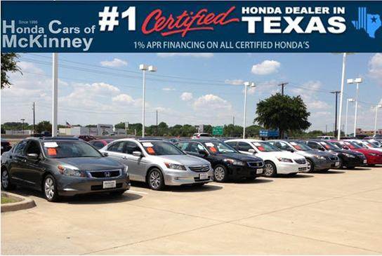 Honda Cars of McKinney 1