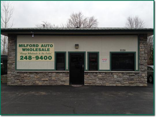 Milford Auto Wholesale Milford Oh 45150 Car Dealership