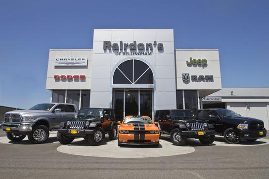 Rairdons Dodge Chrysler Jeep RAM Hyundai of Bellingham