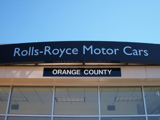 rolls royce motor cars orange county irvine ca 92618