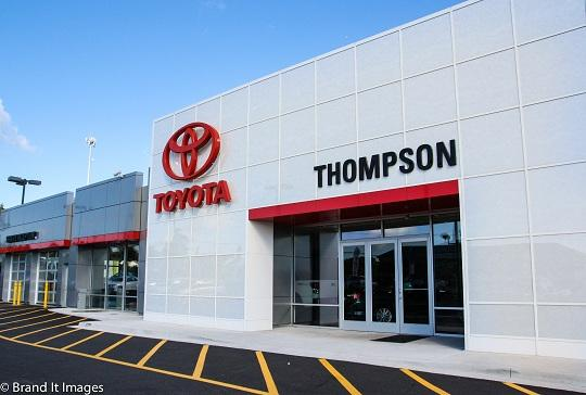Thompson Toyota and Pre-Owned Superstore of Harford County 1