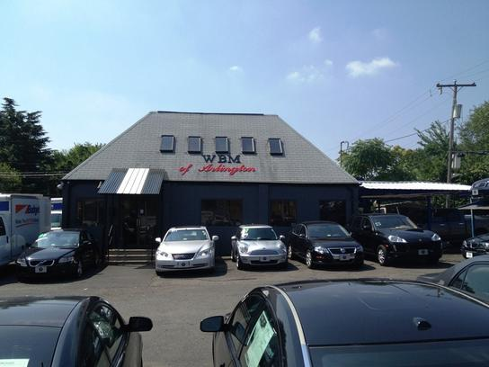 w b m of arlington car dealership in arlington va 22201 kelley blue book. Black Bedroom Furniture Sets. Home Design Ideas