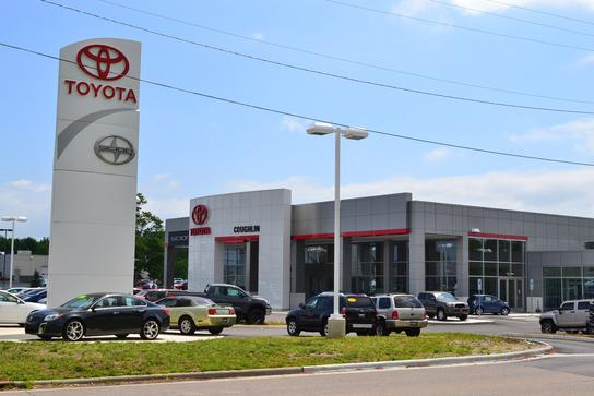 Coughlin toyota car dealership in heath oh 43056 kelley for Coughlin motors newark ohio