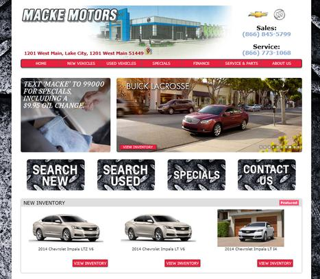 macke motors car dealership in lake city ia 51449