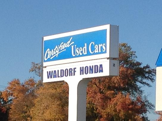 used cars for sale waldorf md waldorf honda dealer. Black Bedroom Furniture Sets. Home Design Ideas