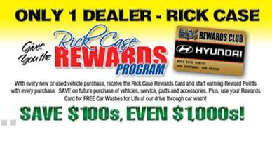 Rick Case Hyundai Davie car dealership in Davie FL