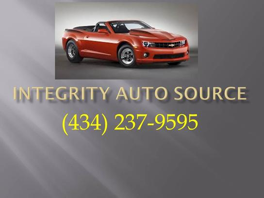 Integrity Auto Source Lynchburg Va 24502 Car Dealership
