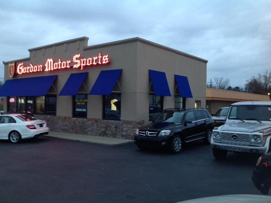 gordon motor sports car dealership in louisville ky 40291 kelley blue book. Black Bedroom Furniture Sets. Home Design Ideas