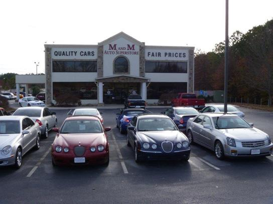 M and m auto superstore lithia springs ga 30122 car for Lithia motors used cars