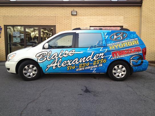Blaise Alexander Hyundai Mazda 1