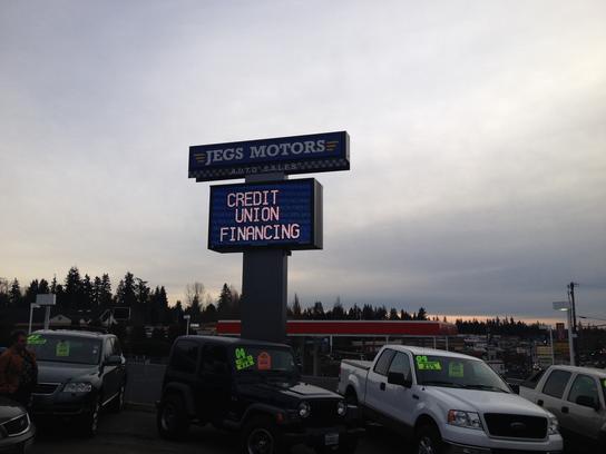 Jegs Motors Car Dealership In Lynnwood Wa 98037 Kelley