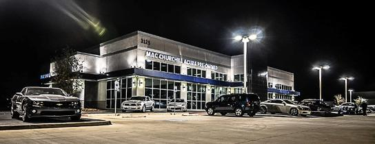 Mac Churchill Acura  Fort Worth TX 76137 Car Dealership and