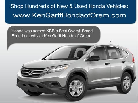 Ken Garff Honda of Orem car dealership in Orem, UT 84058 ...