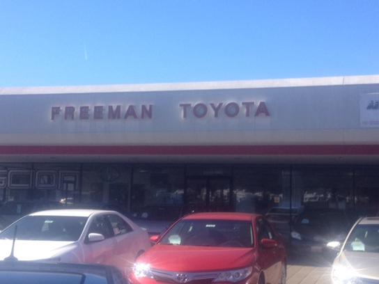 Freeman Toyota Ca Santa Rosa Ca 95407 7878 Car