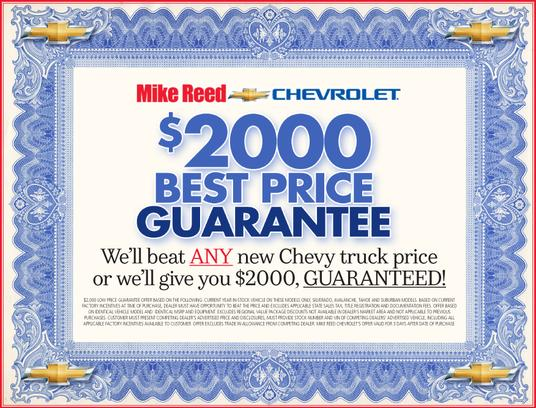 Mike Reed Chevrolet 1