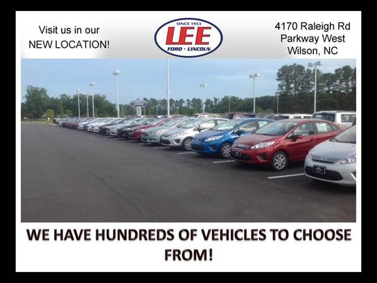 Lee ford lincoln car dealership in wilson nc 27896 for Lee motors goldsboro nc