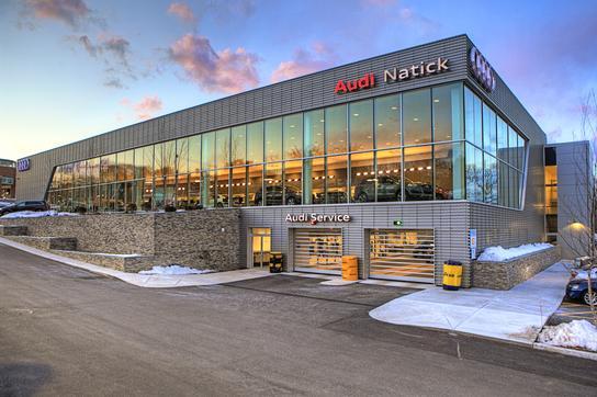 Audi Natick Natick MA Car Dealership And Auto Financing - Audi dealerships in massachusetts