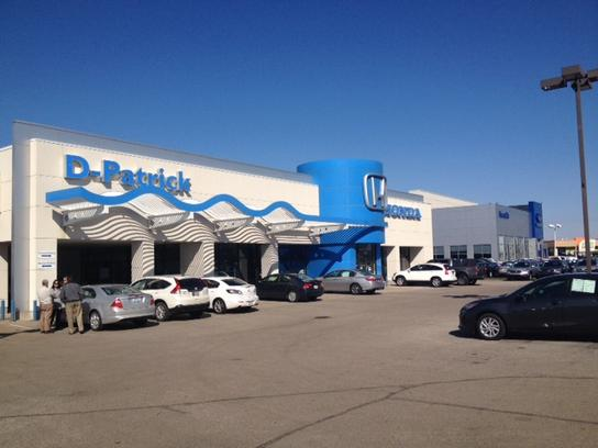 d patrick honda car dealership in evansville in 47715