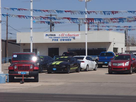 All american chrysler jeep dodge ram of odessa odessa for Texas certified motors odessa