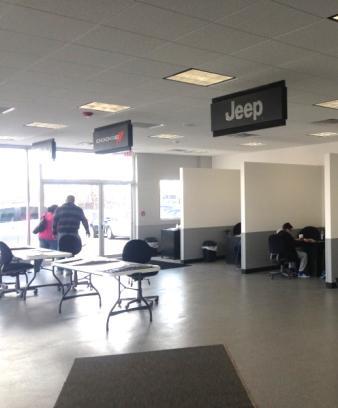 Joe Cecconi S Chrysler Complex Car Dealership In Niagara
