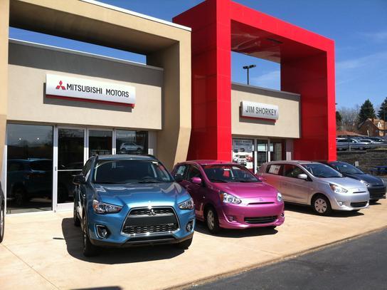 Jim shorkey mitsubishi irwin pa 15642 car dealership for Irwin motors body shop
