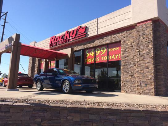 Used Car Dealerships In Mesa Az >> Rocky's Auto Credit : MESA, AZ 85210-1013 Car Dealership