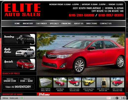 elite auto sales herrin il 62948 car dealership and auto financing autotrader. Black Bedroom Furniture Sets. Home Design Ideas