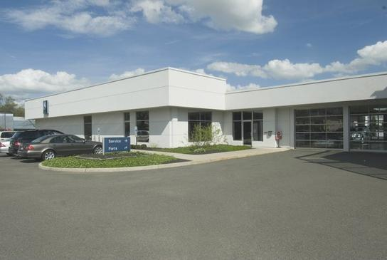 Mercedes benz of princeton car dealership in lawrenceville for Mercedes benz dealers in new jersey