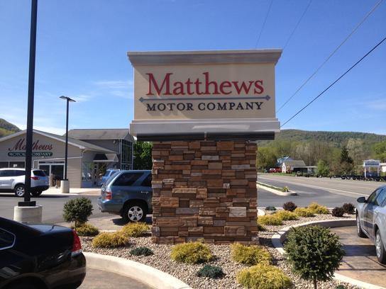 matthews motor company car dealership in covington pa