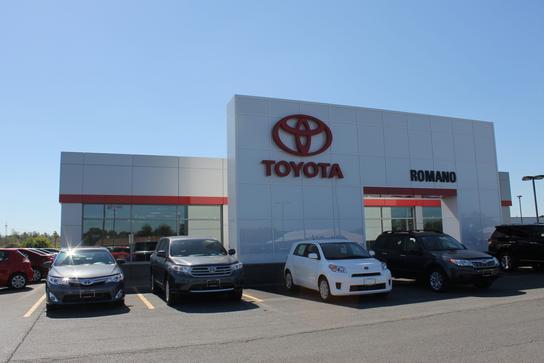 Romano Toyota East Syracuse Ny 13057 Car Dealership