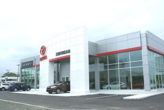 Suburban Toyota Car Dealership In Troy Mi 48084 7128