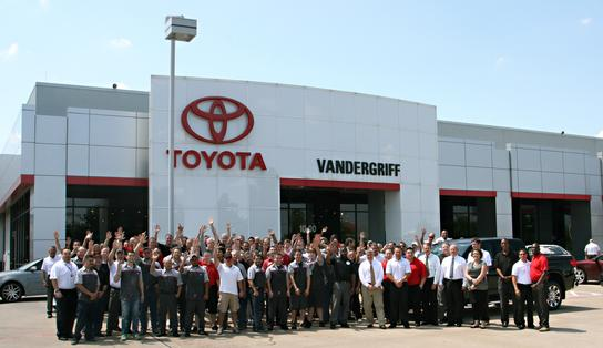 Vandergriff Toyota Dealership