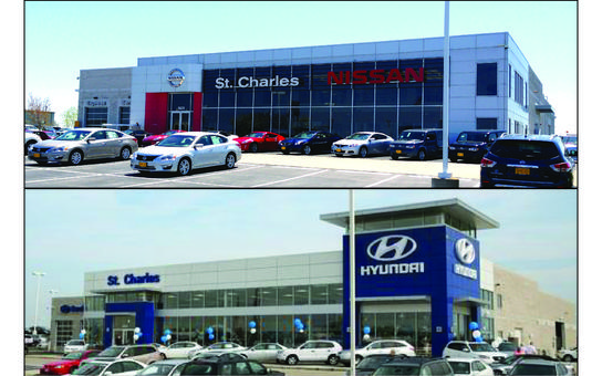 st charles nissan hyundai car dealership in saint peters mo 63376 1603 kelley blue book. Black Bedroom Furniture Sets. Home Design Ideas