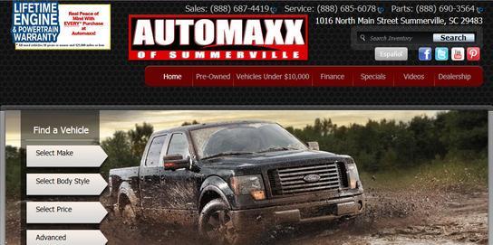 automaxx of summerville summerville sc 29483 car dealership and auto financing autotrader. Black Bedroom Furniture Sets. Home Design Ideas